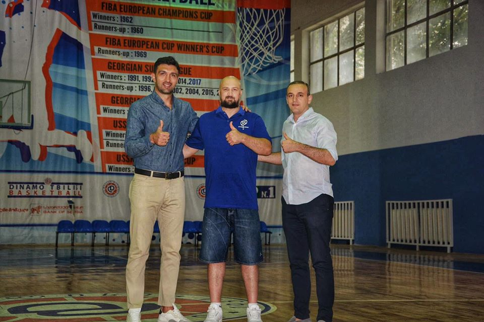 Muja Thaçi- Head coach of BC Dinamo Tbilisi
